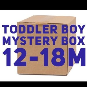 TODDLER BOYS 12-18 MONTH MYSTERY CLOTHING BOX